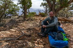 2021 04 Camped near Walapai Point