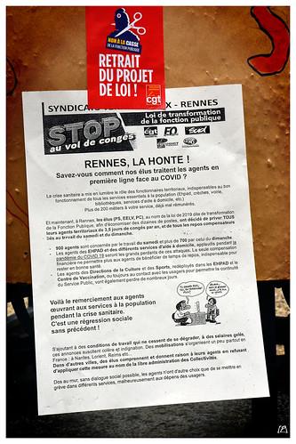 À Rennes, le repos compensateur au cœur de la discorde...