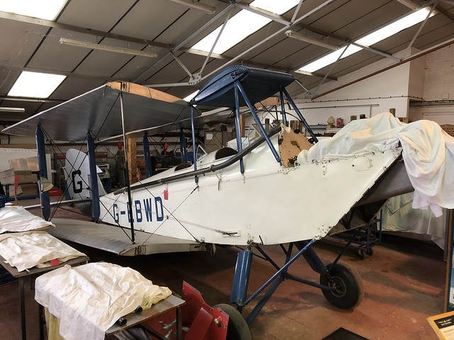 G-EBWD  -  de Havilland DH60X Hermes Moth c/n 552  -  EGTH 22/5/21