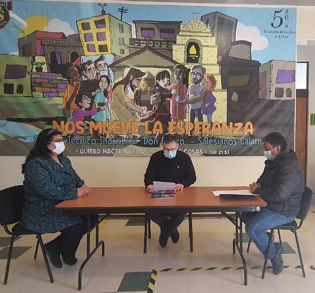 Colegio Don Bosco Calama firma convenio con TTM S.A.