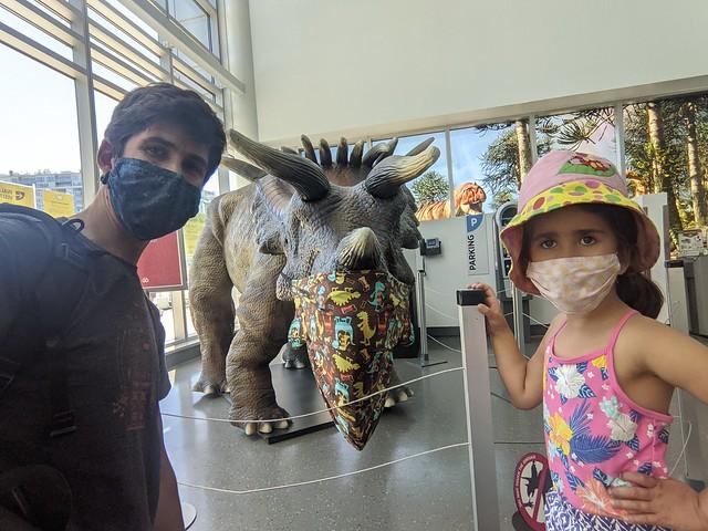 Masked Dinosaurs