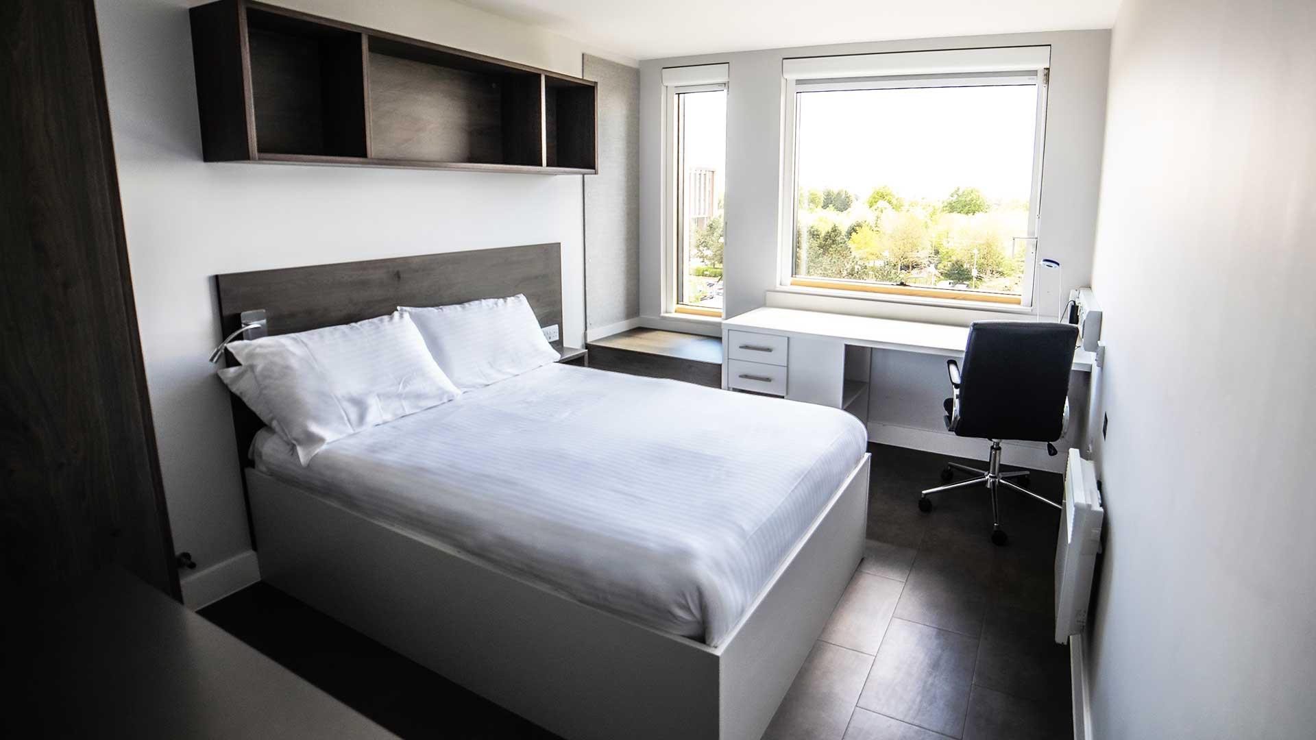 Bedroom in Polden.
