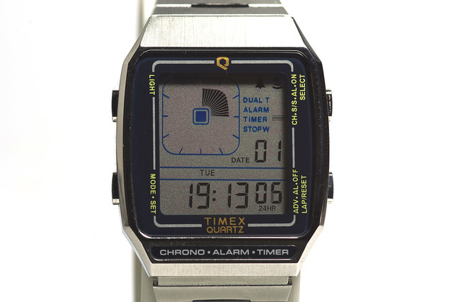 Timex Reissue LCA, Timer-Anzeige