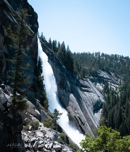 Yosemite (don't remember which waterfall!)