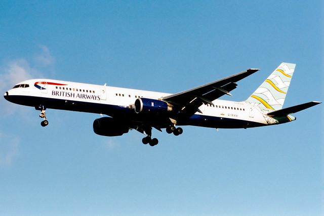 British Airways | Boeing 757-200 | G-BIKA | Blue Poole | London Heathrow
