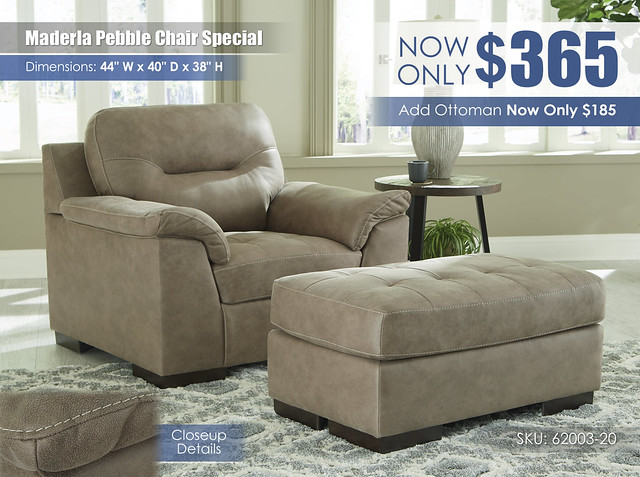Maderla Pebble Chair Special_62003-20-14