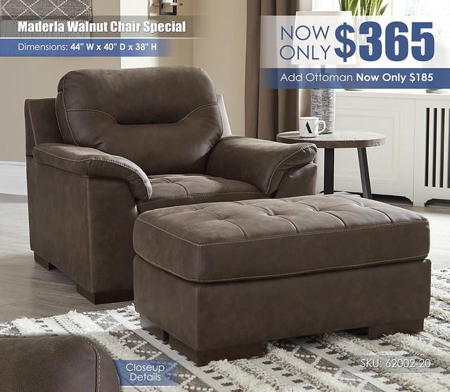 Maderla Walnut Chair Special_62002-20