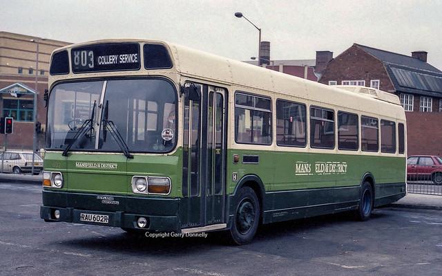 Stagecoach East Midland 602 RAU 602R