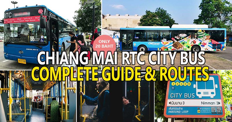 Getting Around Chiang Mai By Public Bus – The New RTC Chiang Mai City Bus