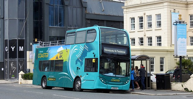 First 33426 LK08NVJ Newquay 26 May 2021