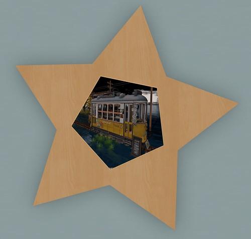 """SLW Design - Wooden Star Frame """"Rumbar"""""""