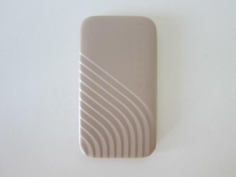 WD My Passport SSD - Back