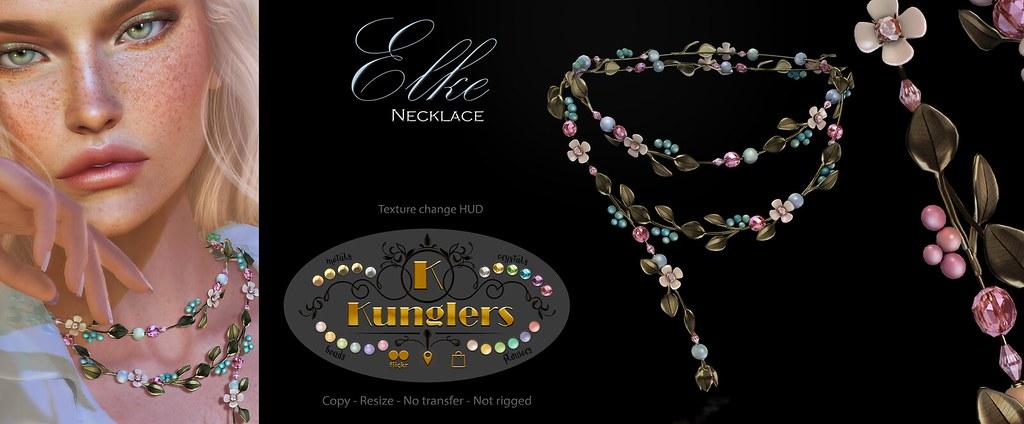 KUNGLERS - Elke necklace