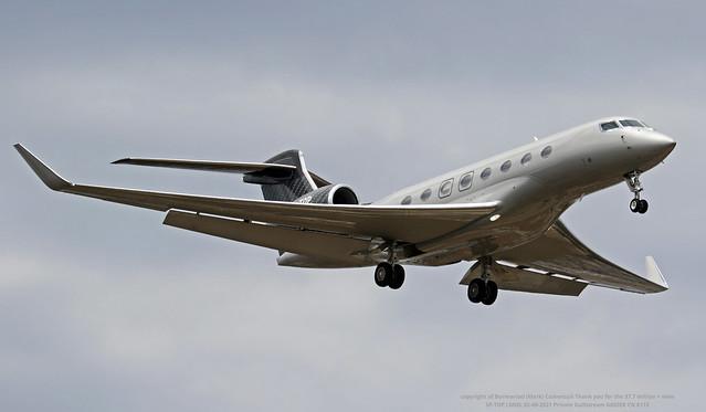 SP-TOP LMML 02-06-2021 Private Gulfstream G650ER CN 6113