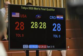 USA v CRO | Tokyo 2020 Paralympic Games Men's Qualification Tournament