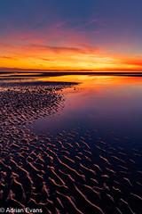 Sunset Seascape Wales