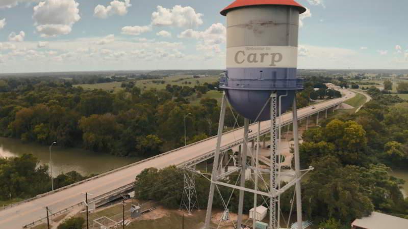 Carp tx water tower