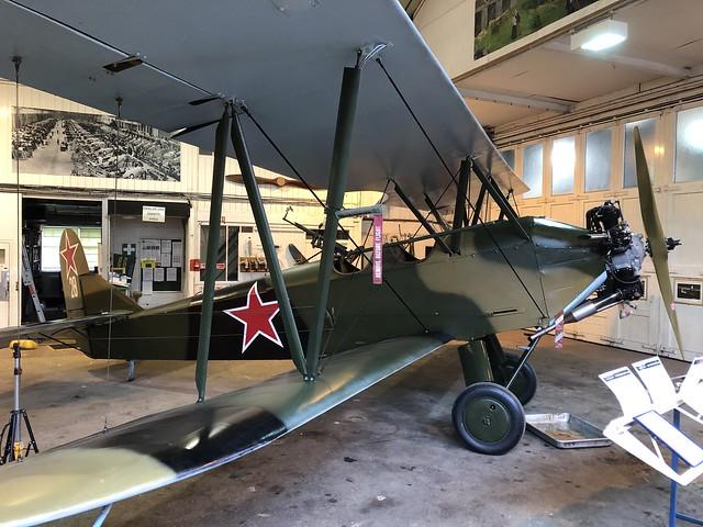 G-BSSY/28  -  Polikarpov Po-2 CSS-13 c/n 0094  -  EGTH 22/5/21