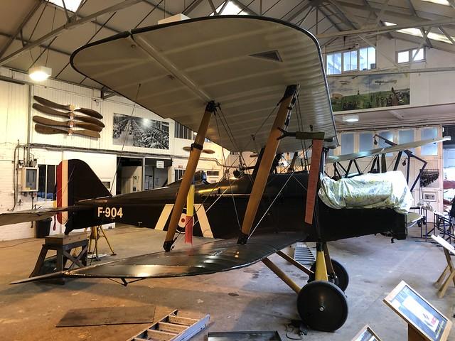 G-EBIA/F904  -  Royal Aircraft Factory SE5A c/n 654/2404  -  EGTH 22/5/21