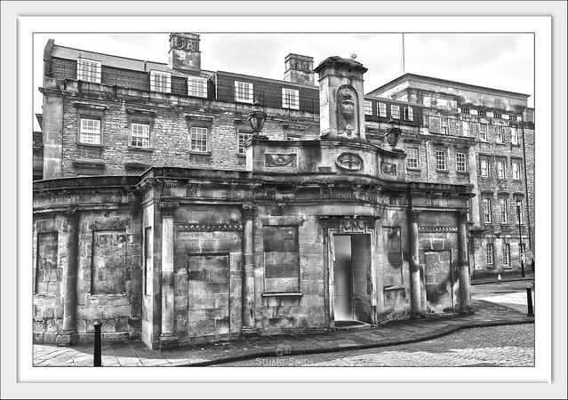 The Cross Bath, Hot Bath Street, Bath, Somerset, England UK