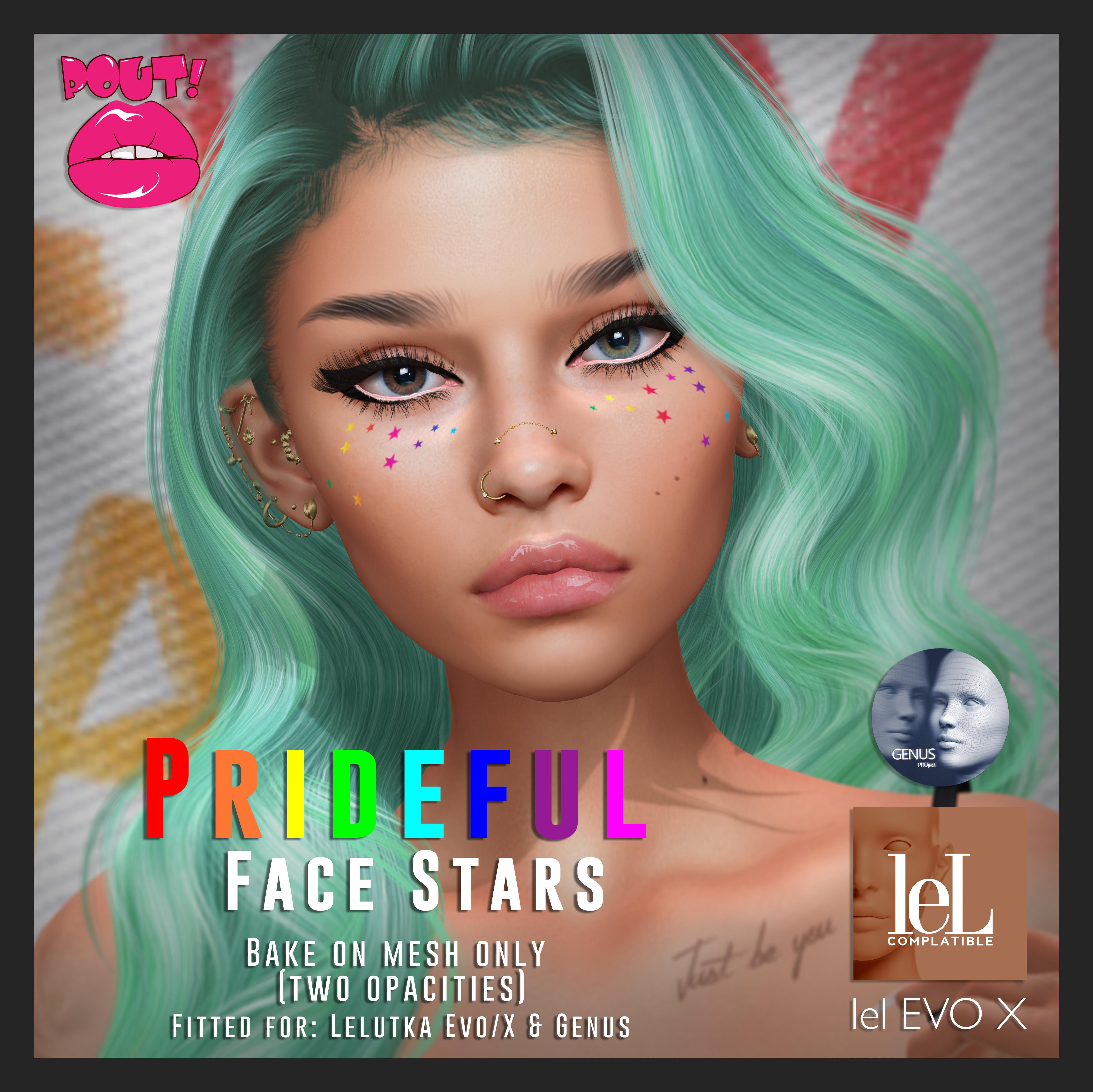 [POUT!] prideful face Stars