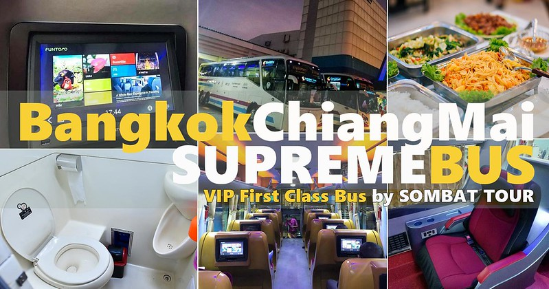 Bangkok to Chiang Mai Overnight Bus Travel – Times & Tickets by SOMBAT TOUR
