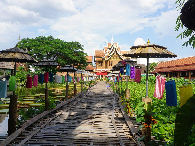 Chiang Mai temple bridge