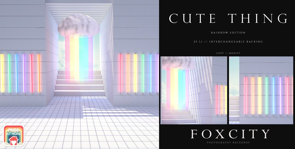 FOXCITY. Photo Booth – Cute Thing (Rainbow)