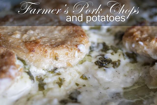 Farmer's Pork Chops and Potatoes