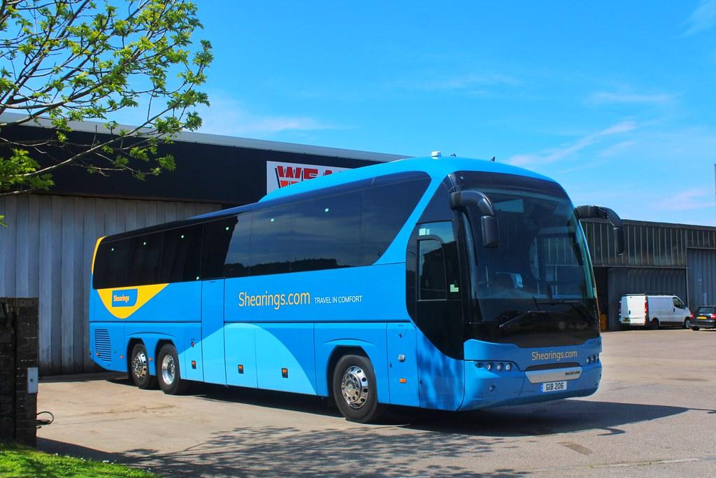 Weardale Motor Services GIB 206