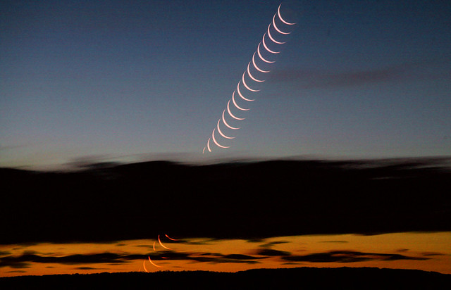 Outback Moonset 1 - March 31, 2006