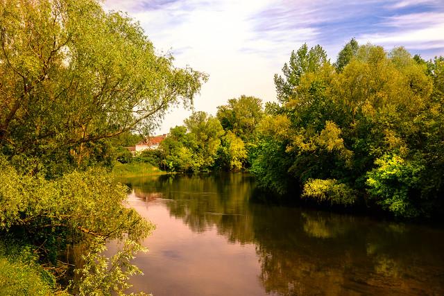 Le Cher , rivière langoureuse -