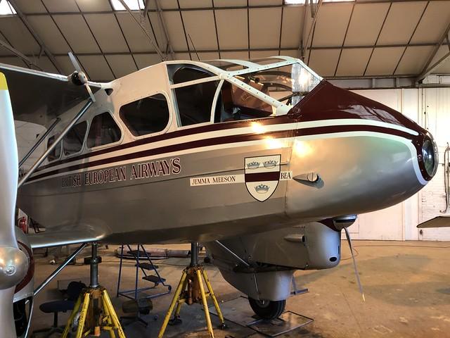 G-AGSH  -  de Havilland DH89 Dragon Rapide Srs A-6 c/n 6884  -  EGTH 22/5/21