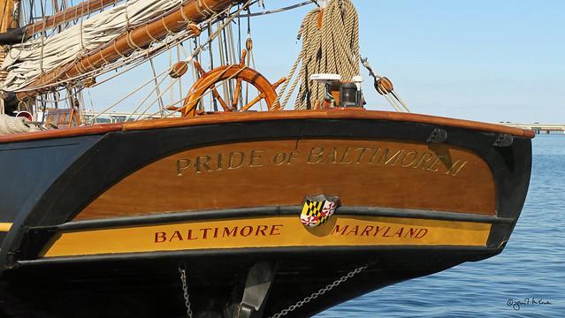 Pride of Baltimore II 07 in Cambridge, MD.
