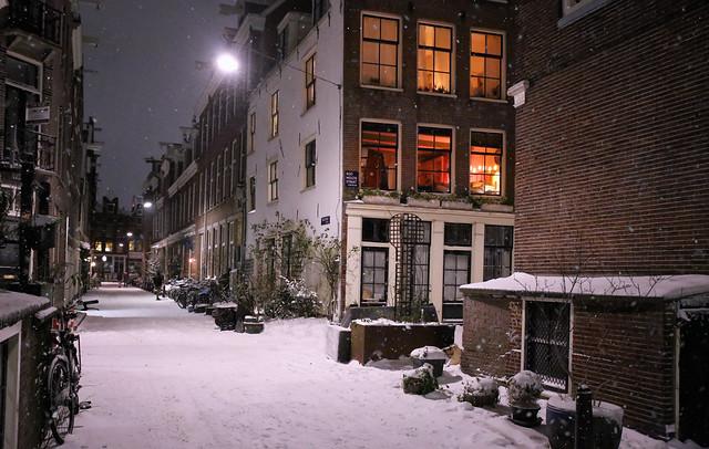 Cold, cozy nights, warm inside & hot chocolate