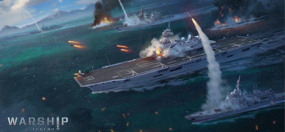Warship Legend Splash Screen Capture
