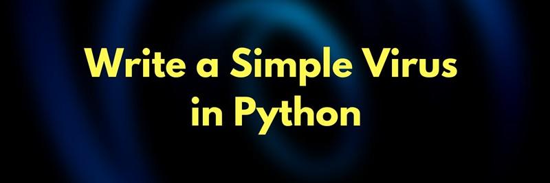 Write a Simple Virus in Python