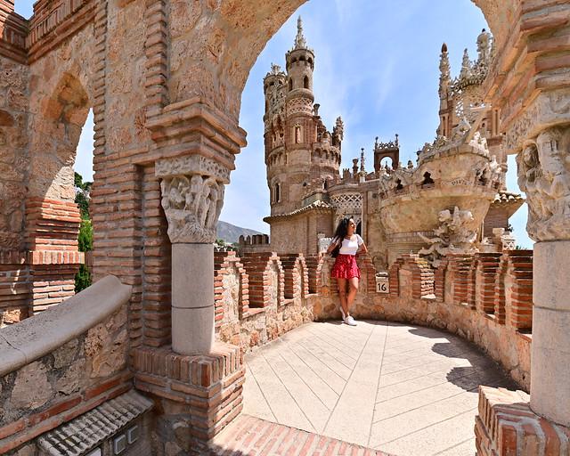 Castillo de Colomares, de los lugares más espectaculares que ver en la Costa del Sol