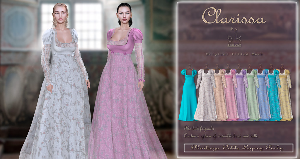 Clarissa by SK poster