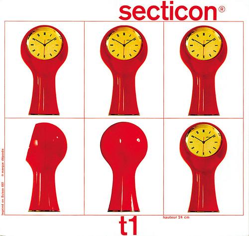 Prospectus cover for Secticon, 1960-61. Le Porte-Échappement Universel S. A., La Chaux-de-Fonds, Switzerland. [trim]