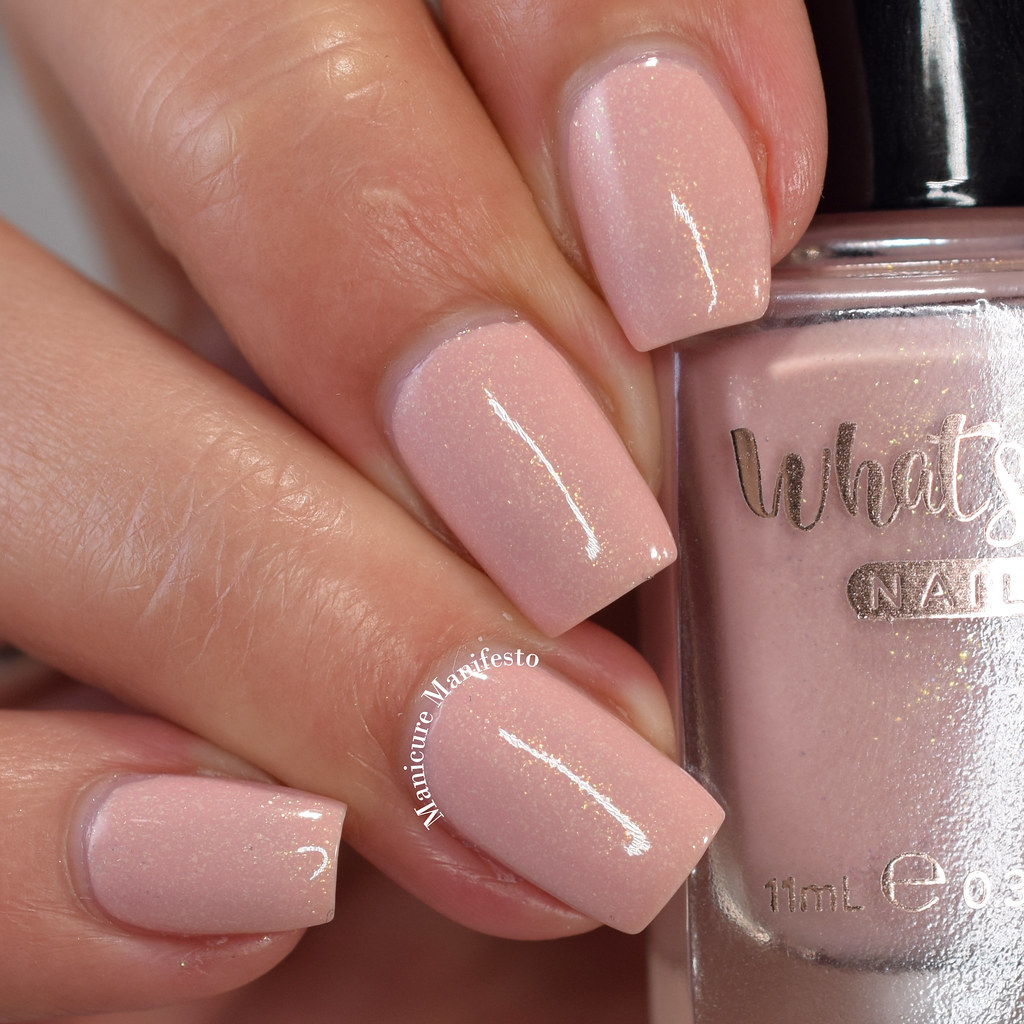 Whats Up Nails Desert Rose swatch