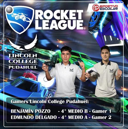 roket leage - clasificados 3 CUADRADO - Lincoln Pudahuel