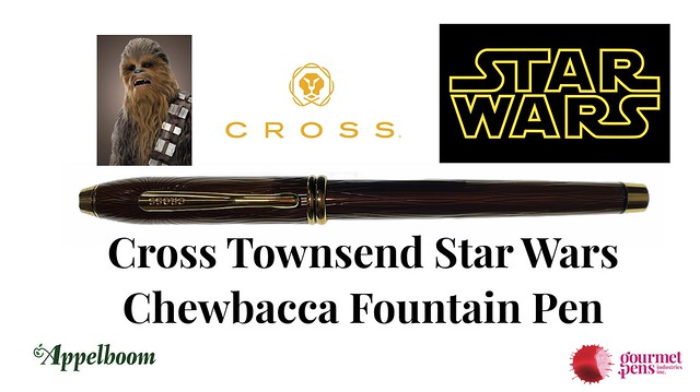 Cross Townsend Star Wars Limited Edition Chewbacca Fountain Pen