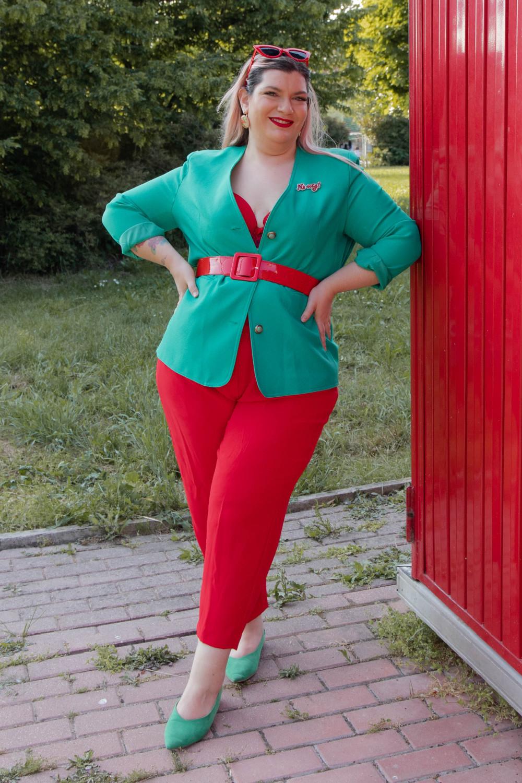 Curvy color challenge rosso e verde (3)