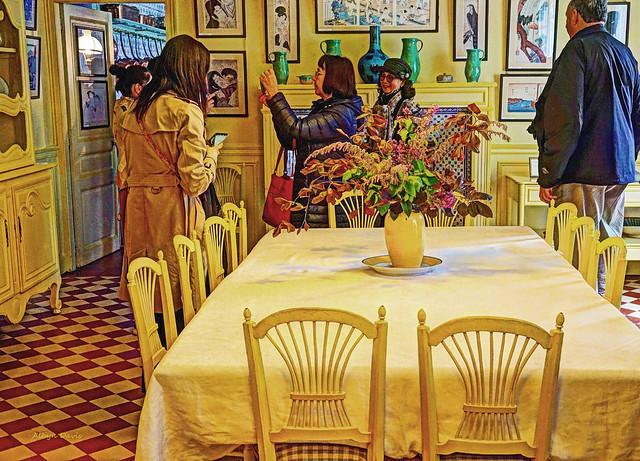 Monet's dining room