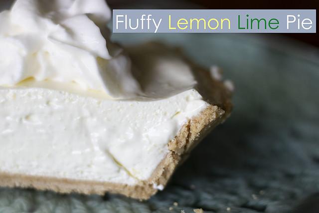 Fluffy Lemon Lime Pie