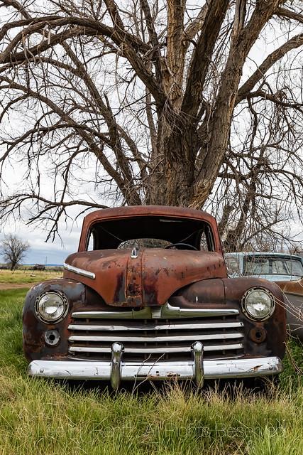Old Pickup in Ardmore, South Dakota