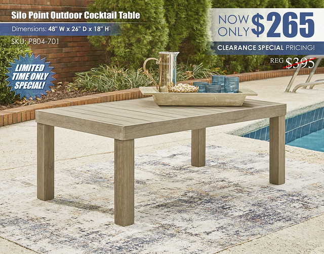 Silo Point Outdoor Cocktail Table_P804-701