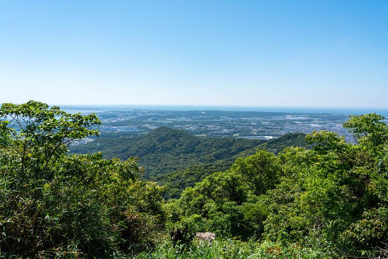 神石山の山頂からの展望