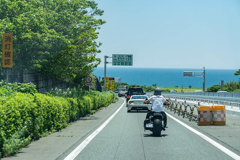 国道1号線で浜松へ